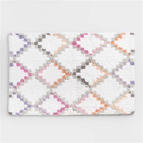 world market bath rugs geometric bath mat world market