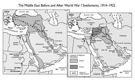 middle east map 1914 world war i stop sense
