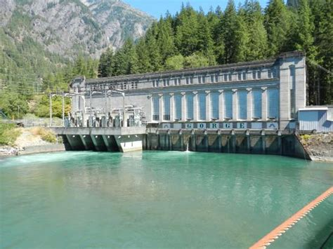 seattle city light locations gorge powerhouse picture of diablo dam cascades