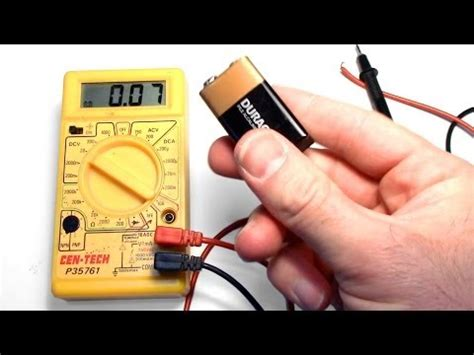 capacitor tester harbor freight how to use a multimeter doovi