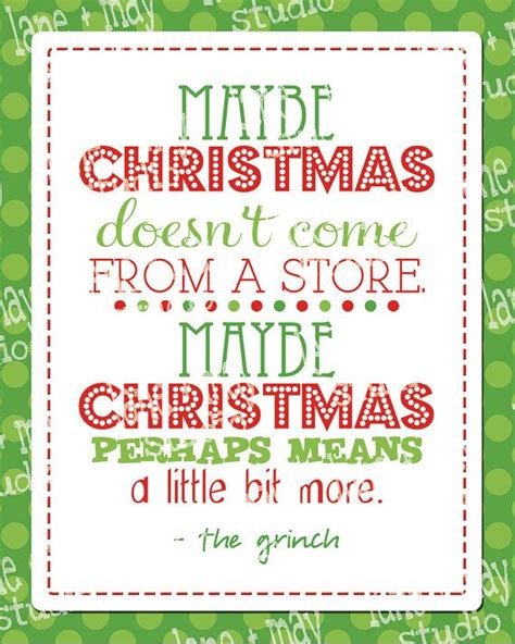 christmas grinch quote    digital print instant