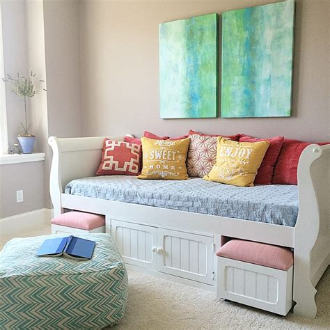 bedroom ideas for small rooms for teenagers turquoise teen room and organized desk craft table