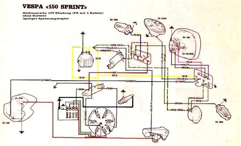 vintage vespa parts diagram 1978 vespa p200e diagram