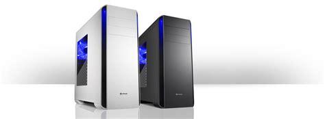 Sharkoon T3 W Gaming Casing Atx Midi Tower Green Blue Led Bla sharkoon bw9000 w