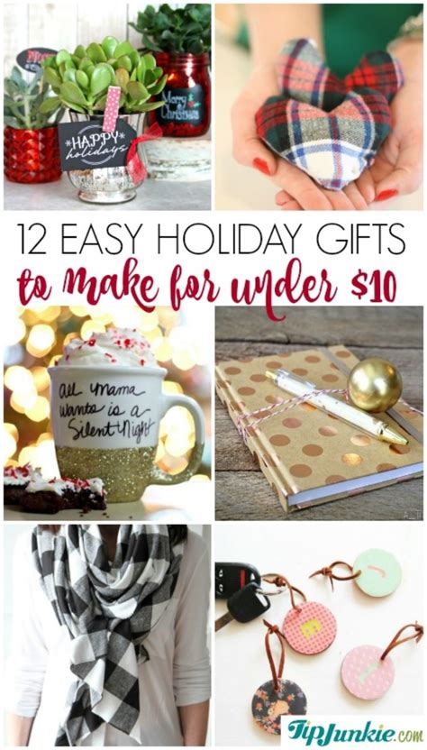 12 easy holiday gifts to make for under 10 tip junkie