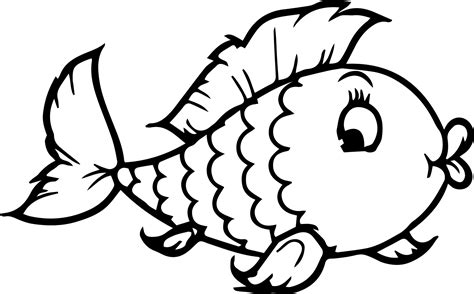 fish coloring pages for kindergarten fish coloring pages for preschoolers coloringstar