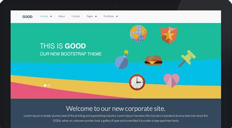 theme wordpress with bootstrap goodwp twitter bootstrap wordpress theme gentsthemes