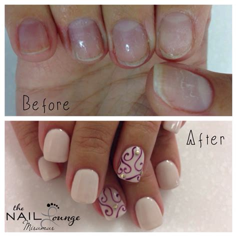 full tutorial with hints and tips at nail art 101 http before after gel full set nails nail art pinterest