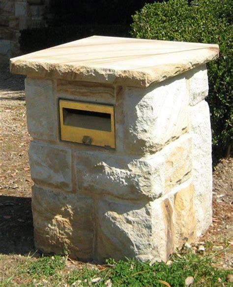 Of Letter Box Sandstone Letterbox Stonemasonry