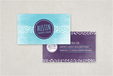Craft Business Card Template by Arts Crafts Business Card Template Inkd