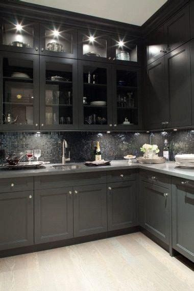 black and grey kitchen cabinets kitchen d 233 cor the best among the rest grey cabinets