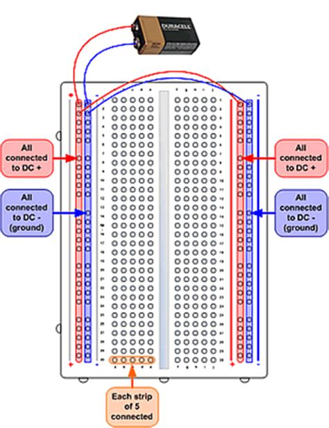 breadboard wiring diagram 25 wiring diagram images