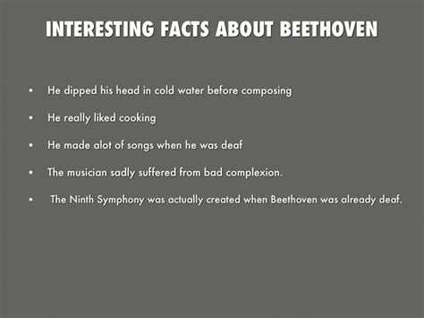 beethoven biography interesting facts beethoven facts