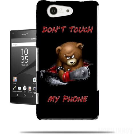 Casing Silicon Hardcase Sony Xperia E3 Xperia E4 Bebas Motif 5 don t touch my phone sony xperia z5 compact h 252 lle