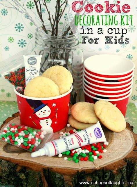 cookie decorating kit cookie decorating kit in a cup for