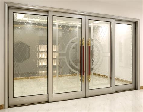 luxury design thermal insulated automatic aluminum glass