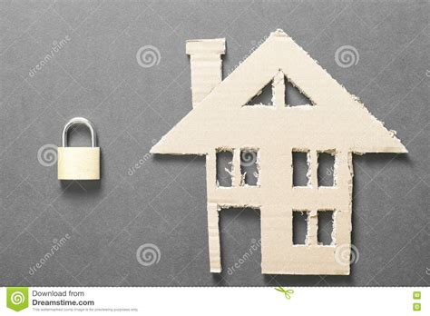 home insurance stock photo image of safe lock safety