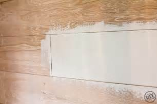 Painting Home Interior plank wall tutorial
