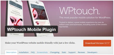 themes for k touch mobile for download 5 plugins to make wordpress mobile friendly without a
