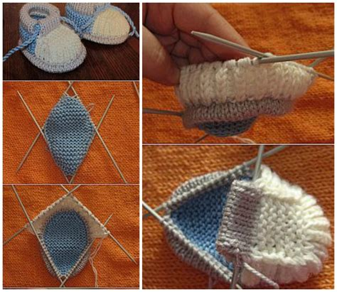 how to knit baby booties how to knit baby shoes for beginners style guru fashion