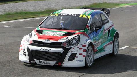 kia auto sport gigi galli kia rx supercar shakedown at