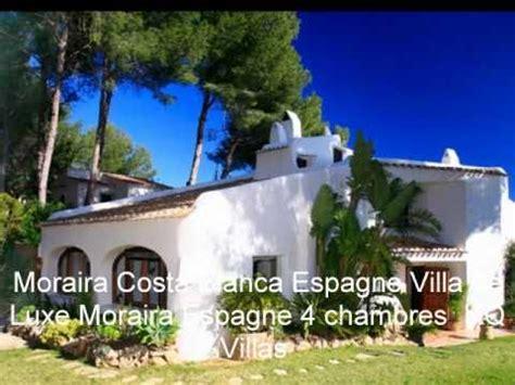 Location villa espagne avec piscine  Moraira Costa Blanca Espagne Vacances en Bord de Mer   YouTube