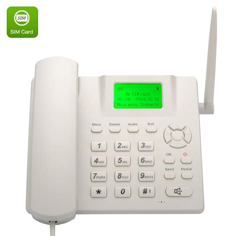 wholesale wireless band gsm desk phone from china