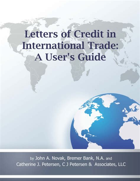 International Trade Credit Letter Letters Of Credit In International Trade A User S Guide