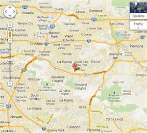 industry california map map hte office city of industry los angeles ca