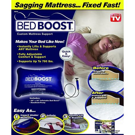 Bed Boost Costum Mattress Support bed boost costum mattress support blue jakartanotebook