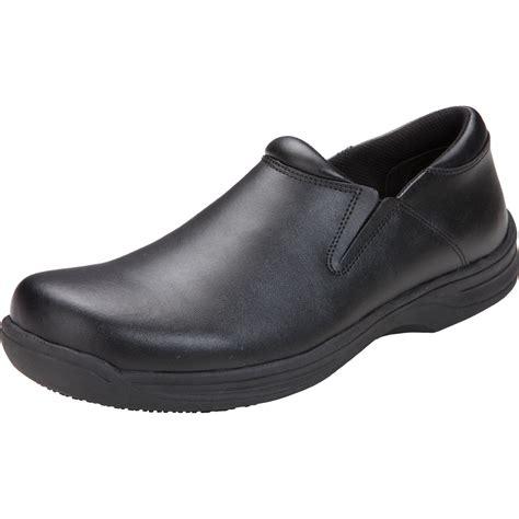 footwear slip resistant mens step in footwear