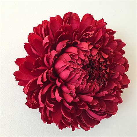 Paper Flowers - new paper flower sculptures by tiffanie turner