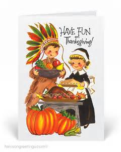 1950s vintage thanksgiving greeting cards tg263 custom invitations and announcements for all