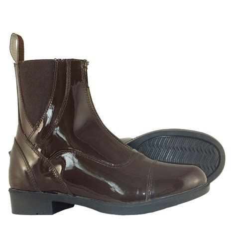 mens leather riding boots for sale joy rider adi ladies mens patent leather classic zip horse