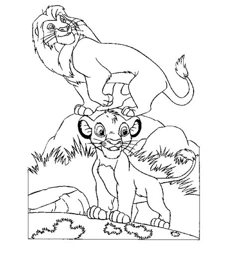 lion king coloring pages online game lion king colouring games coloring home