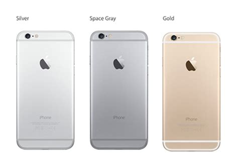 iphone 6 color choices gallery