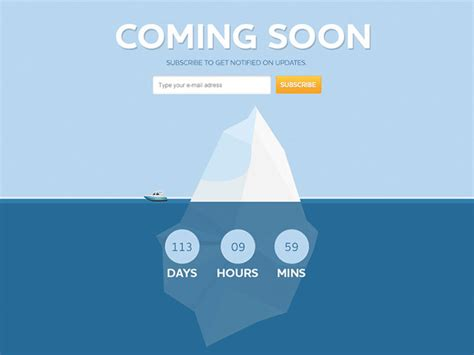 free coming soon page template 17 free psd html coming soon templates web graphic