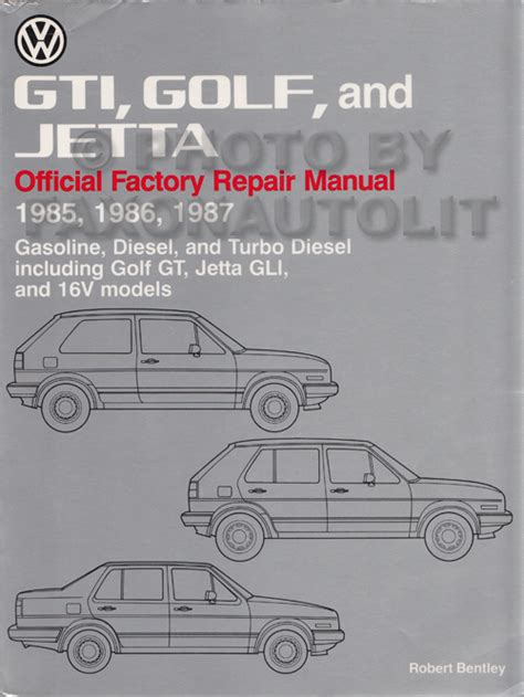 manual repair autos 1985 volkswagen jetta auto manual 1985 1992 vw gti golf and jetta bentley repair shop manual
