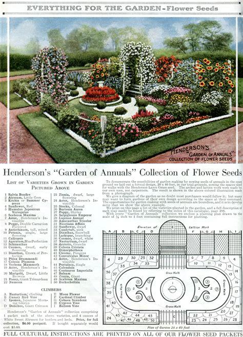 Planning A Flower Garden Layout Vintage Heirloom Flower Garden Plan From 1917 Click For Larger Printable Plan Vintage Fangirl