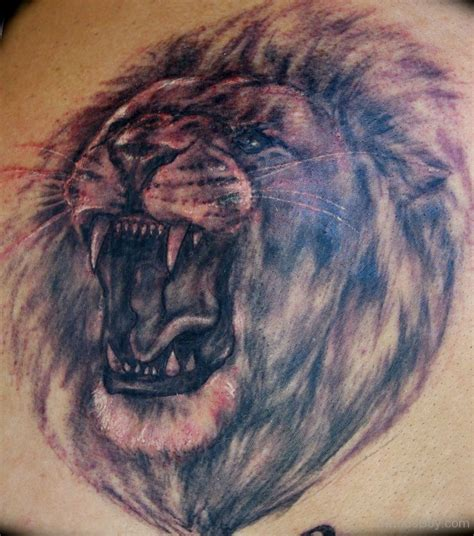 lion face tattoo designs tattoos designs pictures page 8