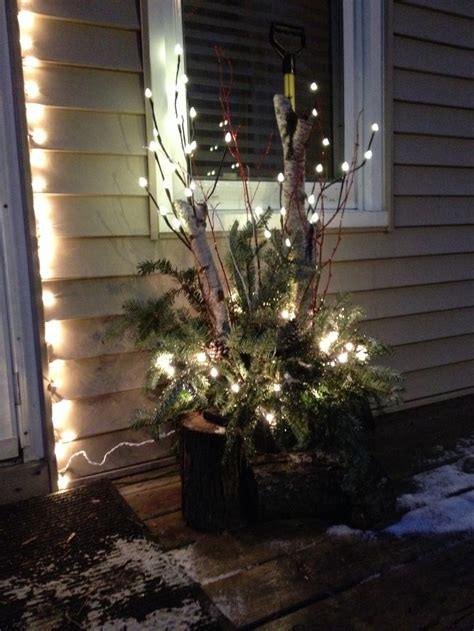 decorating ideas for winter winter outdoor decor