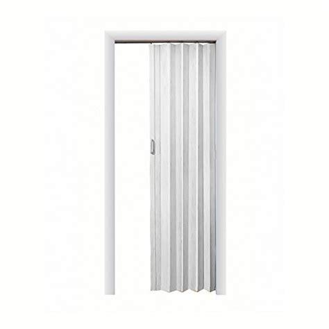 express one vinyl white accordion door accordion doors ltl home products ex4896wh spectrum ex4896wh express one