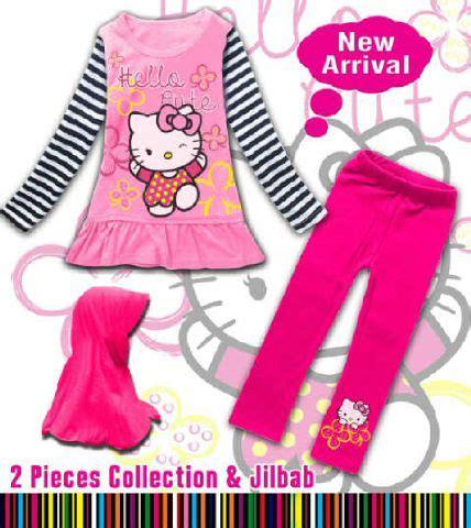 Baju Anak Muslim Pink 5 6 Tahun baju anak branded murah dan berkualitas setelan baju