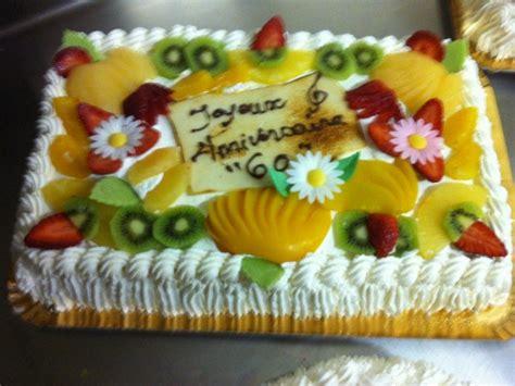 Decoration Genoise Aux Fruits gateaux genoise aux fruits