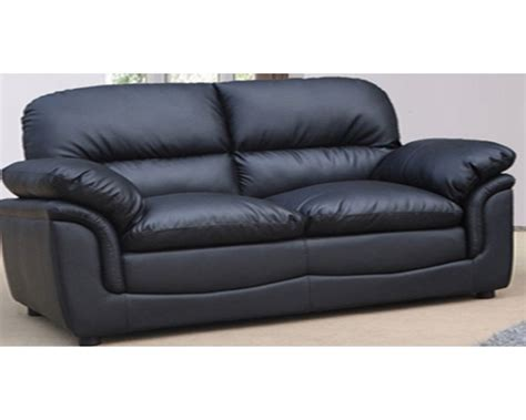 Leather Black Couches black leather 2 seater sofa decor ideasdecor ideas