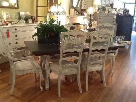 country french dining room sets chalk painted dinning sets stunning french country