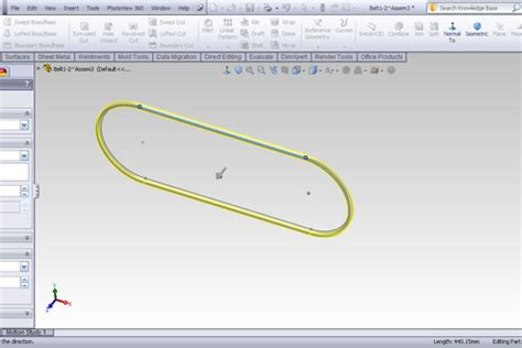 solidworks tutorial lesson 2 assemblies tutorial adding belt in assembly in solidworks grabcad