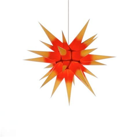 weihnachtsstern beleuchtung herrnhuter weihnachtsstern i6 gelb rot mit beleuchtung