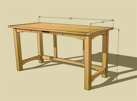 Computer Desk Plans Computer Desk Plans Dimensions Computer Desk Pinterest Desk Plans Desks And Craftsman Desks