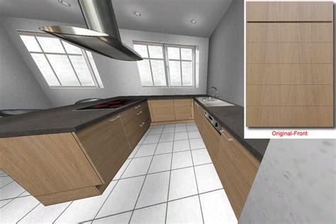 küchenzeile planen k 252 che k 252 che eiche hell modern k 252 che eiche k 252 che eiche